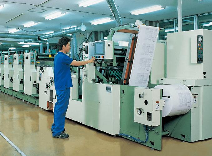 バリアブル印刷機